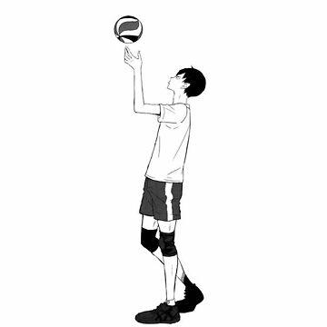 Haikyuu!! Kageyama Tobio - Manga  by sunicorn