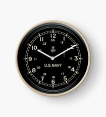 Retro U.S. NAVY Clock imitation Clock