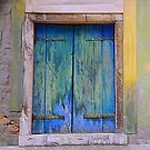 Shuttered & Battered Window by dunawori