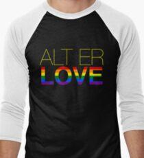 alt er love (skam) Men's Baseball ¾ T-Shirt