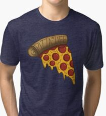 Pizza is LIFE Tri-blend T-Shirt