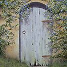 Old Ceanothus Door by FranEvans