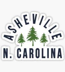 Asheville North Carolina Sticker