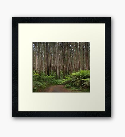 Survivors - Marysville - The HDR Experience Framed Print