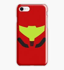 Samus' visor iPhone Case/Skin