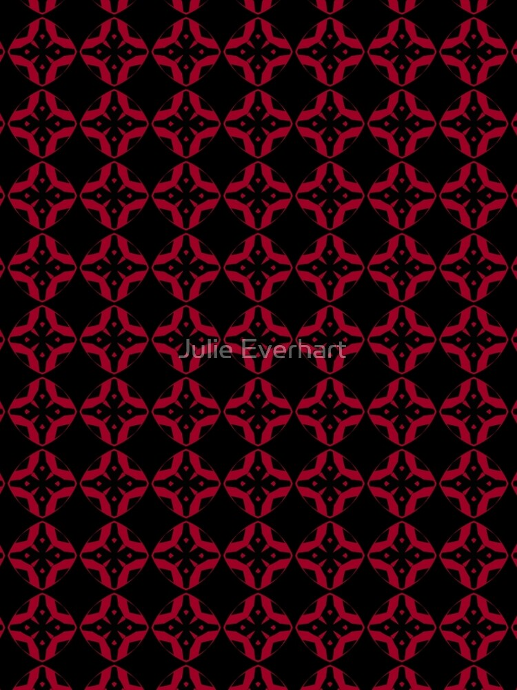 Red and Black Design by Julie Everhart by julev69