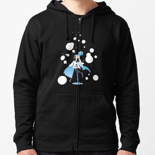 Aqua Kingdom Hearts Veste zippée à capuche