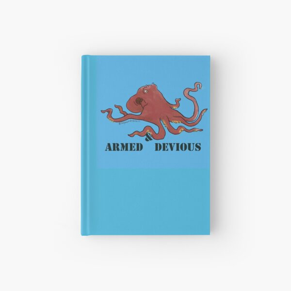 Armed & Devious Hardcover Journal
