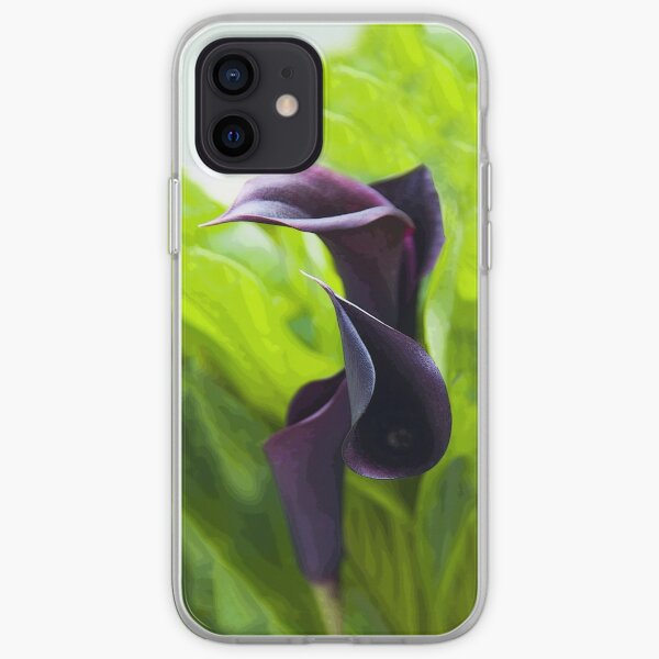 Dark Lilies [iPhone Case] iPhone Soft Case