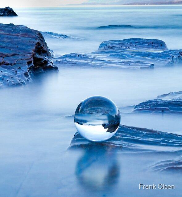 Blue crystal II by Frank Olsen
