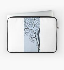 Trees in black and white Laptop Sleeve