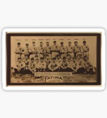 Benjamin K Edwards Collection Detroit Tigers baseball card portrait Sticker