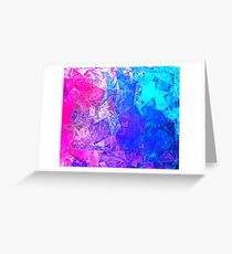 Textured Paper Overlay Greeting Card
