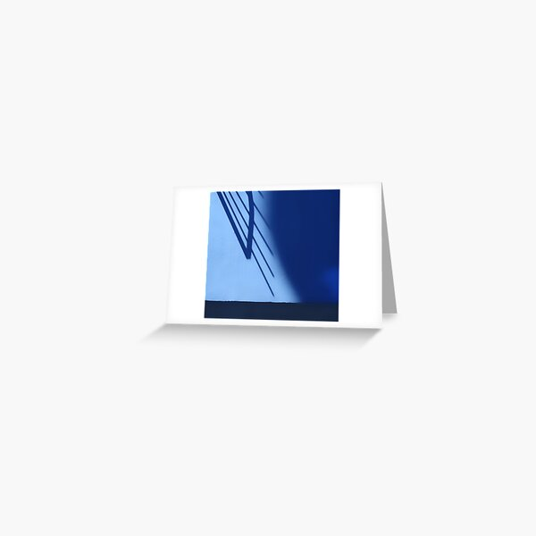 The Blue Shadow Greeting Card