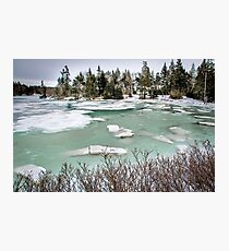 GREEN WATER Photographic Print