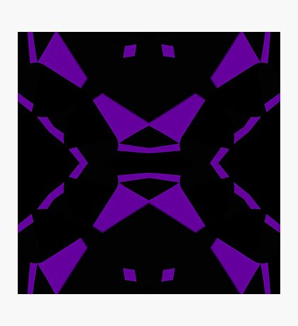 Purple and Black by Julie Everhart Photographic Print