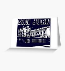 SAN JUAN, PUERTO RICO Greeting Card