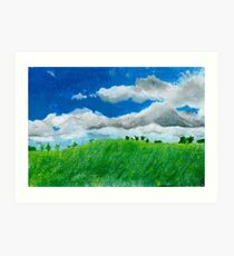 Down in the Hill Art Print