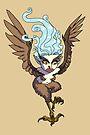 Flying Harpy Girl MONSTER GIRLS Series I by angelasasser