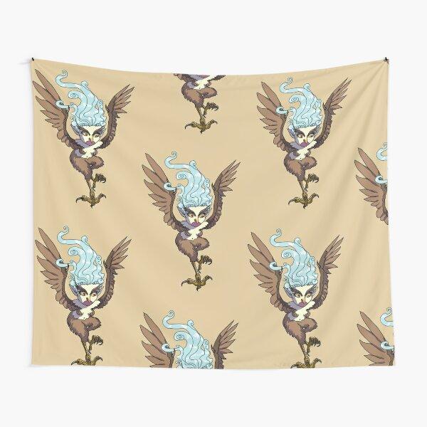 Flying Harpy Girl MONSTER GIRLS Series I Tapestry