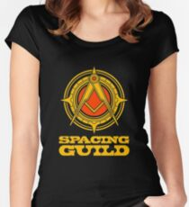 spacing guild Women's Fitted Scoop T-Shirt