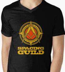 spacing guild Mens V-Neck T-Shirt