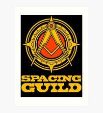 spacing guild Art Print