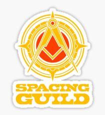 spacing guild Sticker