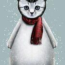 CAT PENGUIN by MEDIACORPSE