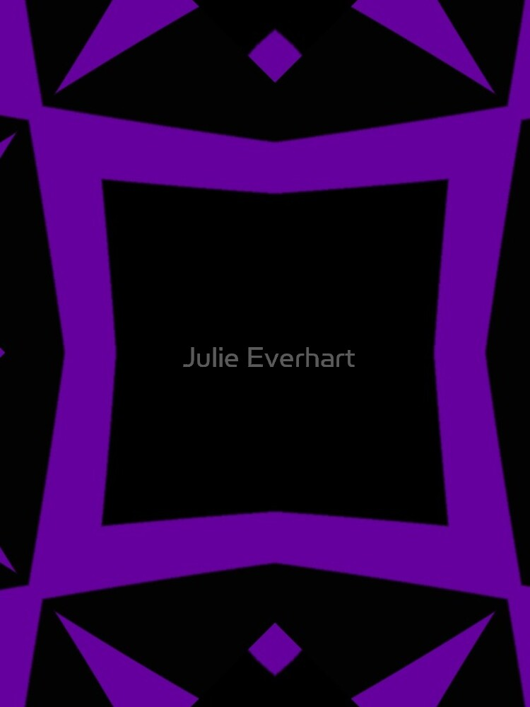 Black and Purple Design 3 by Julie  Everhart by julev69