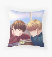 JIKOOK - LATE AFTERNOON Throw Pillow