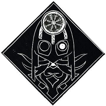 Odin Norse God Mask by BGauntlett