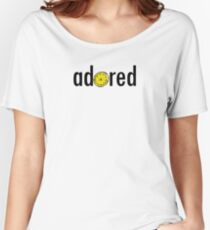 Stone Roses -  Adored Lemon Design Women's Relaxed Fit T-Shirt