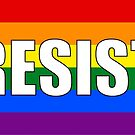 Resist Protest Products (Rainbow) by Mark Podger