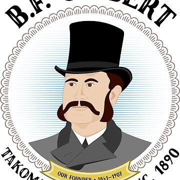 B.F. Gilbert, founder of Takoma Park, Maryland by 49thAndElm