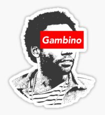 Childish Gambino art Sticker