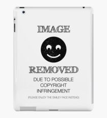 Image Removed iPad Case/Skin
