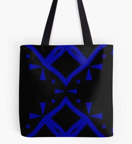 Black and Blue by Julie Everhart Tote Bag