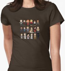 Tiny Hannibal Womens Fitted T-Shirt