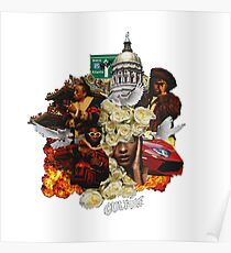Migos Bad and Boujee Culture Merchandise Poster