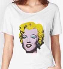 Marilyn Monroe Art Women's Relaxed Fit T-Shirt