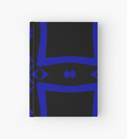 Black  and Blue 2 by Julie Everhart Hardcover Journal