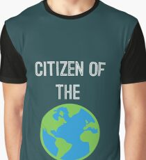Citizen of The World Graphic T-Shirt