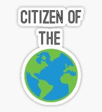 Citizen of The World Sticker