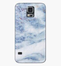 Funda/vinilo para Samsung Galaxy Mármol azul