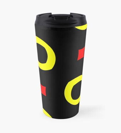Red and Yellow by Julie Everhart Travel Mug