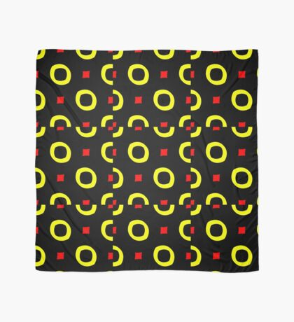 Red and Yellow by Julie Everhart Scarf