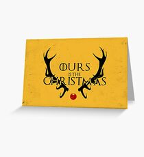Ours Is The Christmas Greeting Card