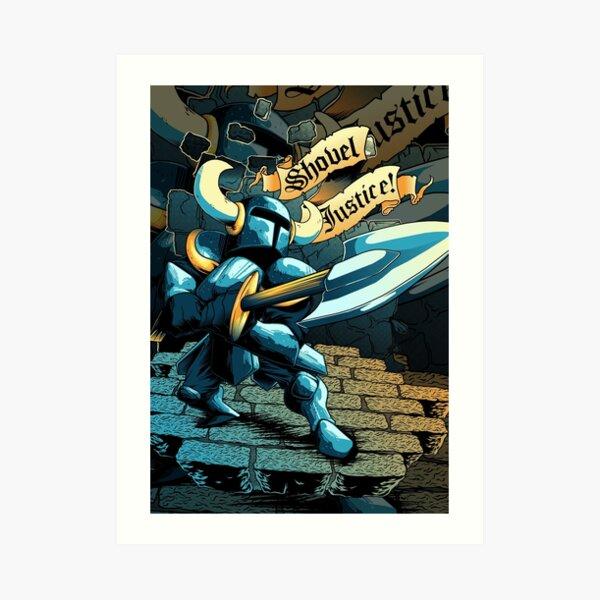 Steel Thy Shovel! Art Print
