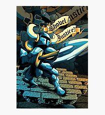 Steel Thy Shovel! Photographic Print